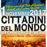 1 Novembre 2017 – Noi, Cittadin* del Mondo