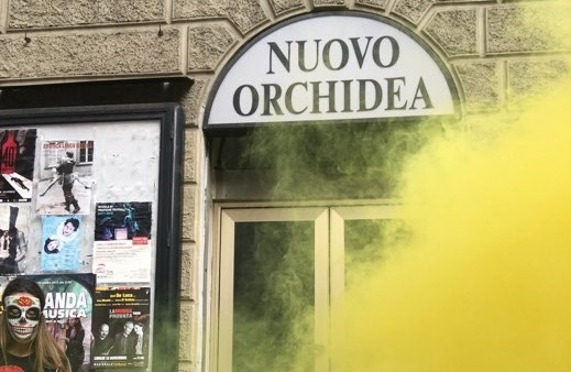 LUMe back on stage! – Occupato l'ex-Cinema Orchidea in Via Terraggio 3