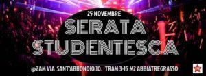 Serata Studentesca - ZAM - 25 Nov @ ZAM