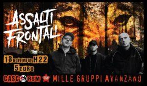 Assalti Frontali LIVE - 18/11 - #StayTuned @ Milano