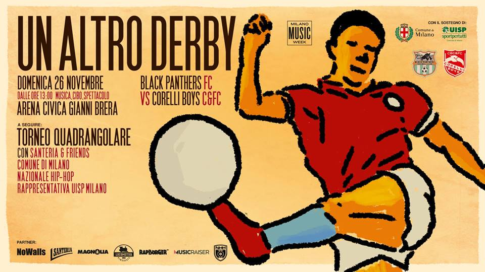 Un altro derby - Black Panthers Fc vs Corelli Boys C&FC @ Arena Civica