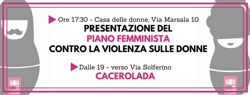 Presentazione del Piano femminista contro la violenza sulle donne