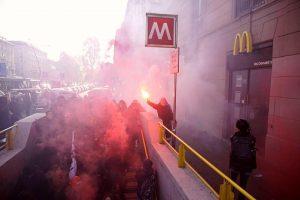 Pre-concentramento CASC corteo 15 Dicembre @ Milano