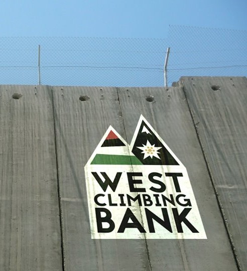 West Climbing Bank in partenza per la Palestina