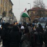 Antifascisti contro Forza Nuova oggi a Milano Sud