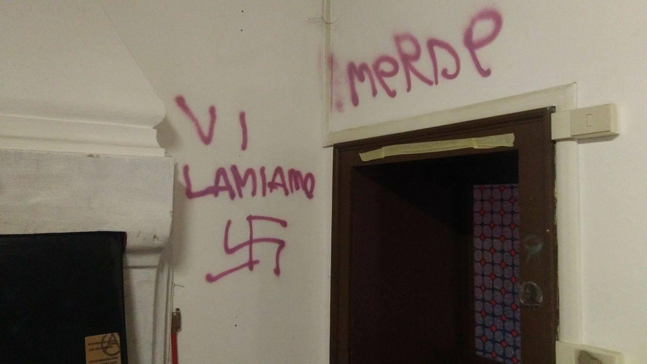 Tentativo di irruzione fascista alla KascinaOccupata di Bergamo