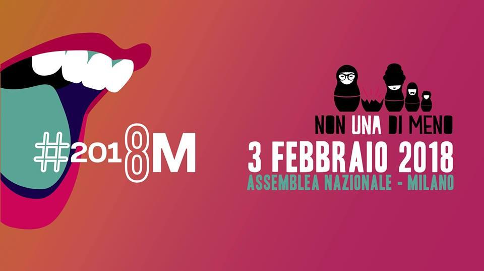 Assemblea nazionale Non Una Di Meno | Milano, 3 Febbraio