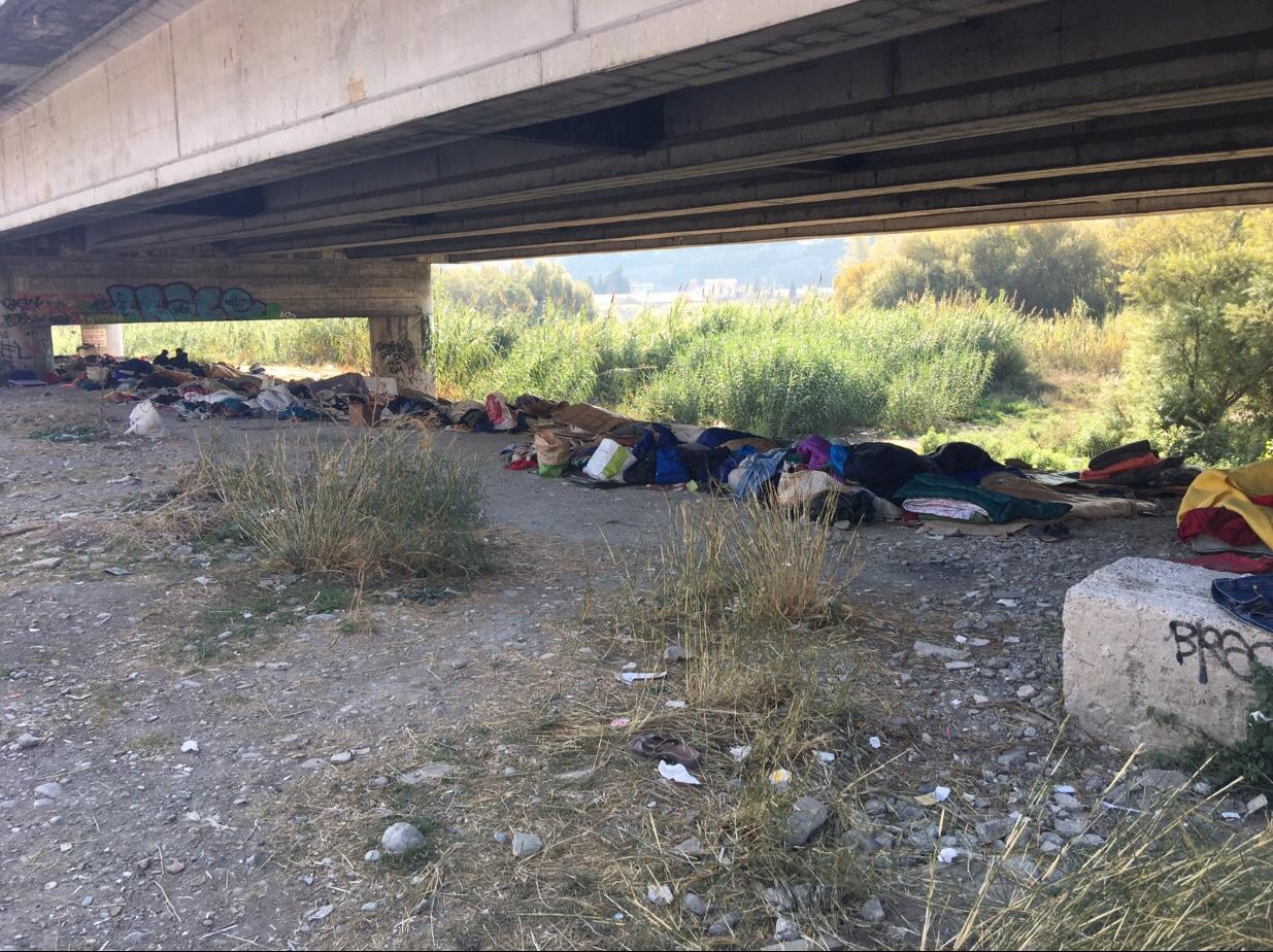 Ventimiglia – sgomberato il Ponte delle Gianchette