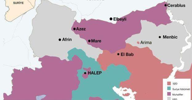 L'importanza di Afrin e perché lo stato turco vuole attaccarla
