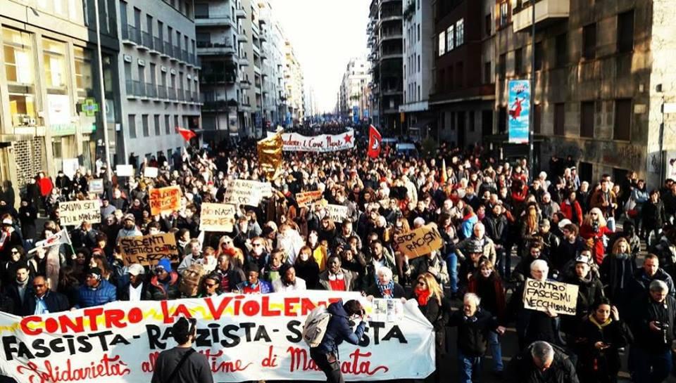 Oltre 20.000 a Milano contro fascismo e razzismo – Comunicato dei promotori della Marci antifascista e antirazzista