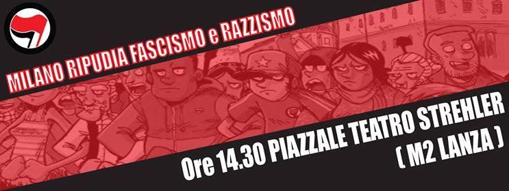 No al sabato nero, costruiamo una piazza antifascista!
