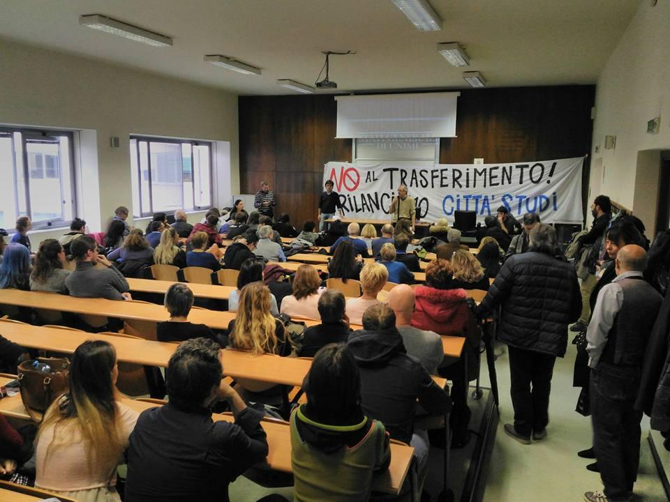 Assemblea e mobilitazione: No al trasferimento ad Expo!