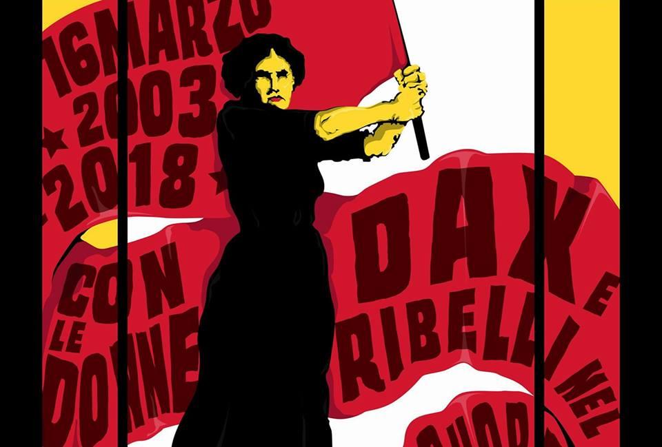 Corteo antifascista – Con DAX e le Donne Ribelli nel cuore!