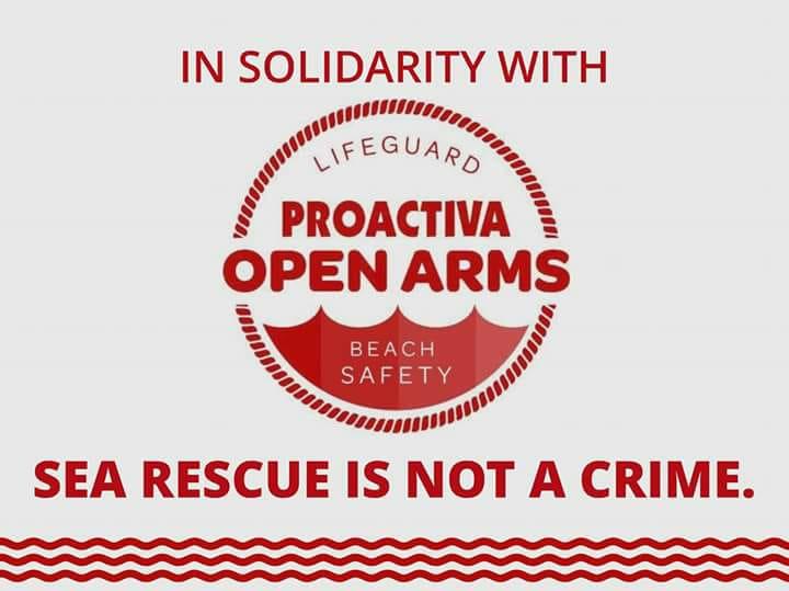 Salvare vite non è un reato! – Piccola rassegna stampa sulla vicenda di Open Arms