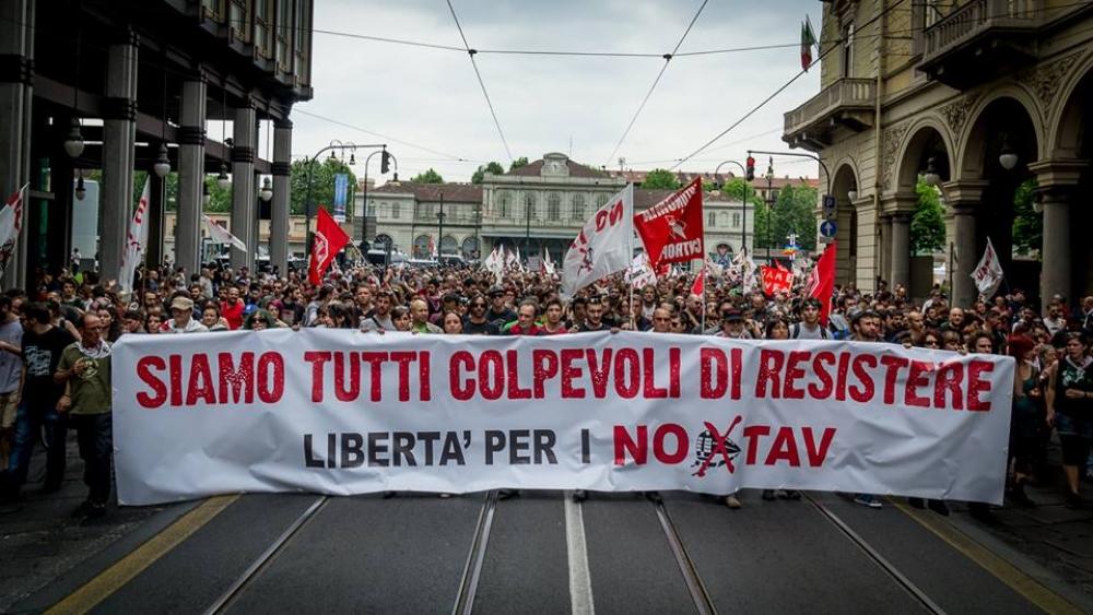 Appello del Movimento NoTav in vista della Cassazione dell'11 Aprile per i fatti del 27 Giugno e 3 Luglio 2011