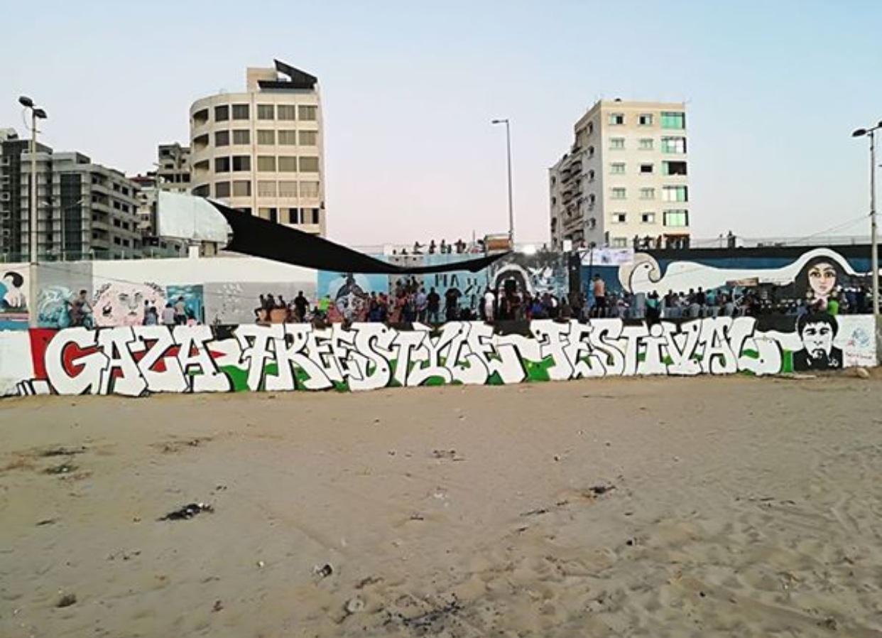 Torna il Gaza freestyle festival
