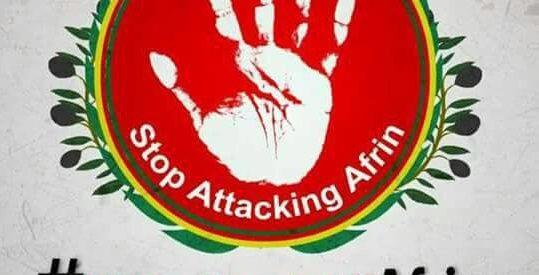 Difendiamo Afrin! Corteo mercoledi 14.03 ore 18 all'Arco della Pace