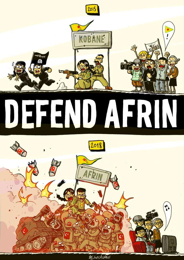 Intervento del compagno Botan, combattente e attivista a Raqqa e Tabqa