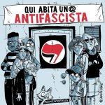 Qui abita un antifascista