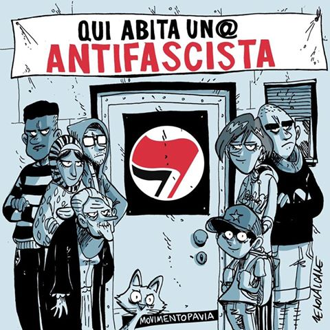 Qui abita un antifascista