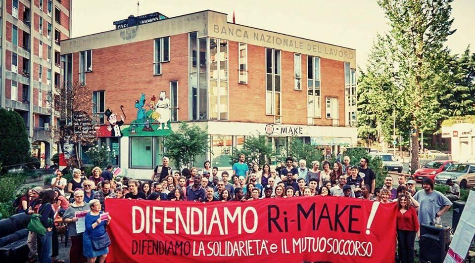Al Comune di Milano: Difendiamo RiMake!