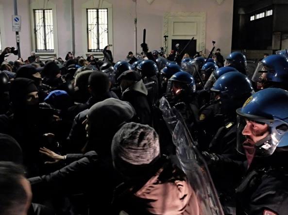 Contestazione a Lealtà Azione in Municipio 4 – Durissime condanne agli antifascisti