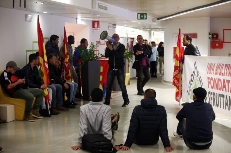 Occupati gli uffici di Rozzano di Leroy Merlin contro licenziamenti e sfruttamento