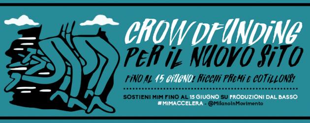 MilanoInMovimento riparte! Partecipa al crowdfunding!