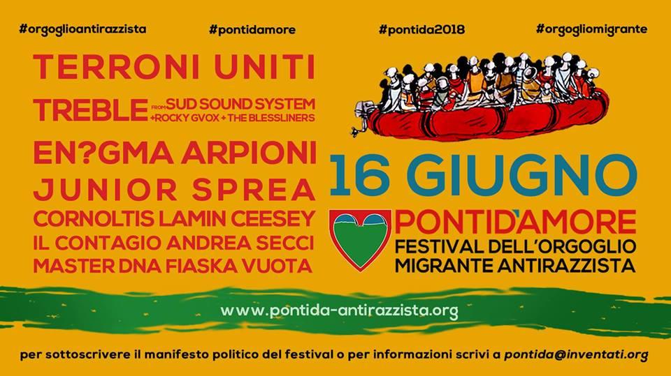 Festival dell'Orgoglio Migrante Antirazzista @ Pontida