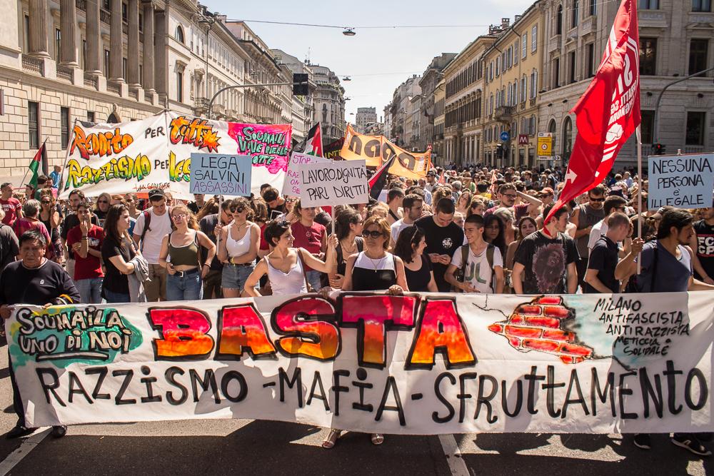Fotogallery – Migliaia in piazza per Soumaila Sacko
