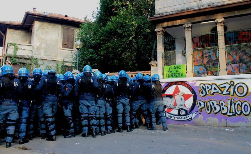 Al via lunedì il processo per lo sgombero del Lambretta dell'Ottobre 2012