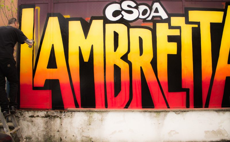 CSOA Lambretta sotto sgombero