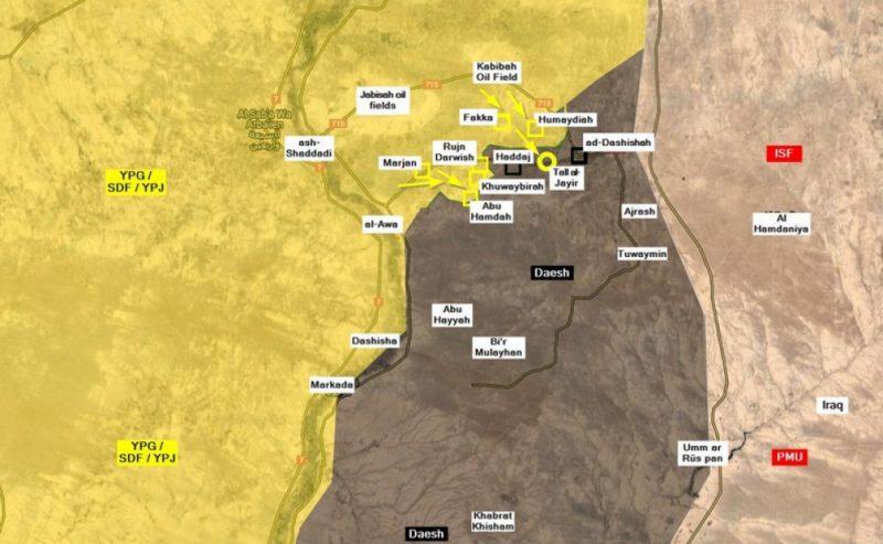 Le Forze siriane democratiche circondano Hajin