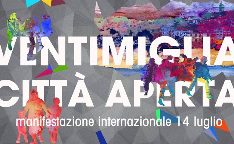 """La conferenza stampa di lancio del corteo internazionale """"Ventimiglia città aperta"""" del 14 Luglio"""
