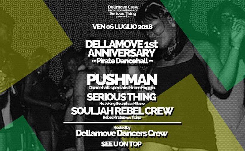 DeLLaMove B Bash – 6 Luglio @ Milano