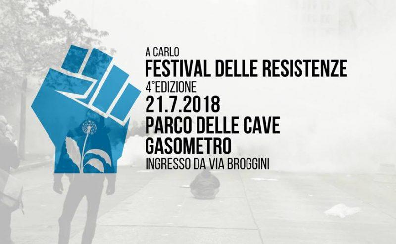 Festival delle Resistenze_4°edizione – 21 Luglio @ Parco delle Cave