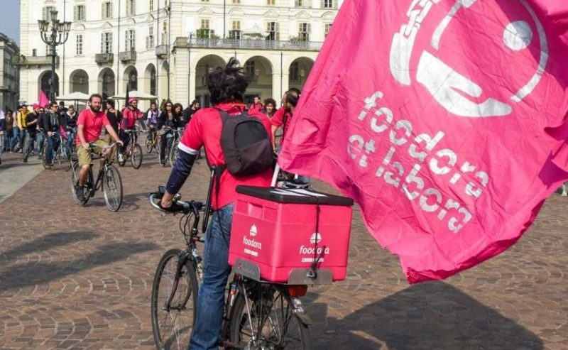 Si apre oggi a Roma il tavolo nazionale di trattativa sui riders