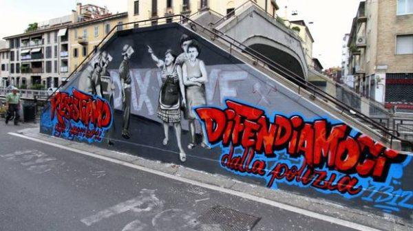 I Piu Bei Murales.Murales Di Via Gola Quando Il Corriere E Piu Realista Del Re