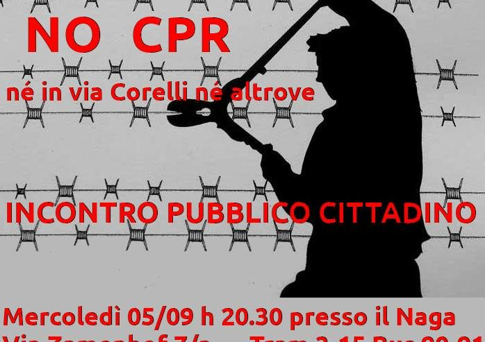 No CPR, No lager! – Incontro pubblico – 5 Settembre @ Naga