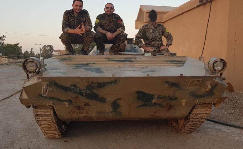 Solidarietà dalla Rojava al CSOA Lambretta