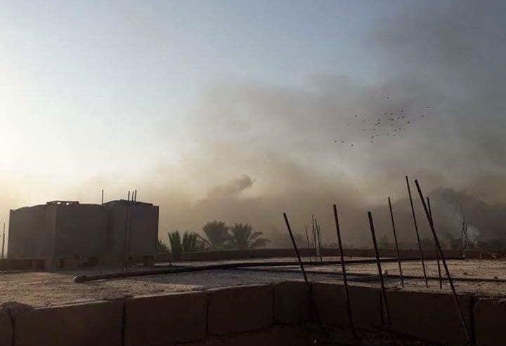 Liberata una parte della città di Baghoz