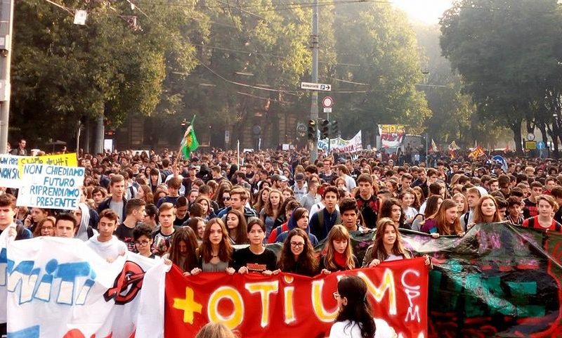 5 Ottobre – Corteo studentesco: il cambiamento parte da noi!