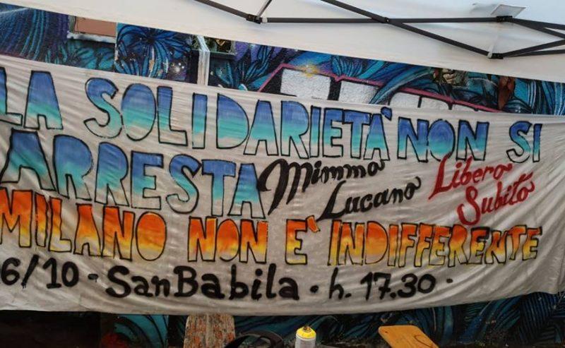 La solidarietà non si arresta: Mimmo Lucano libero subito! – 6 Ottobre @ San Babila
