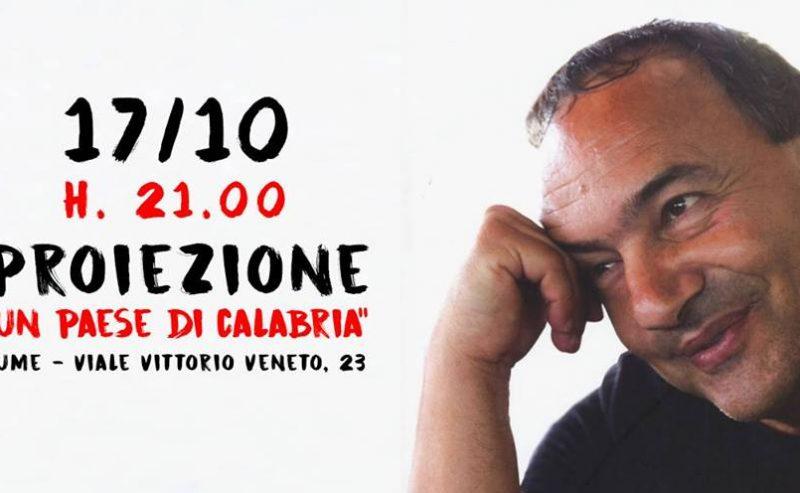 """Proiezione """"Un paese di Calabria"""" – 17 Ottobre @ LUMe"""