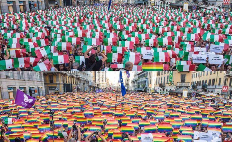 A Milano i gay diventano di destra