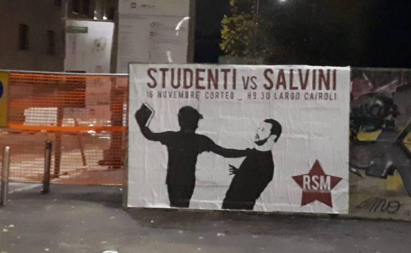 Milano – Studenti vs. Salvini secondo atto