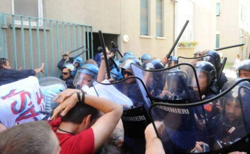 10 denunce per lo sgombero di Via del Turchino del Maggio 2014