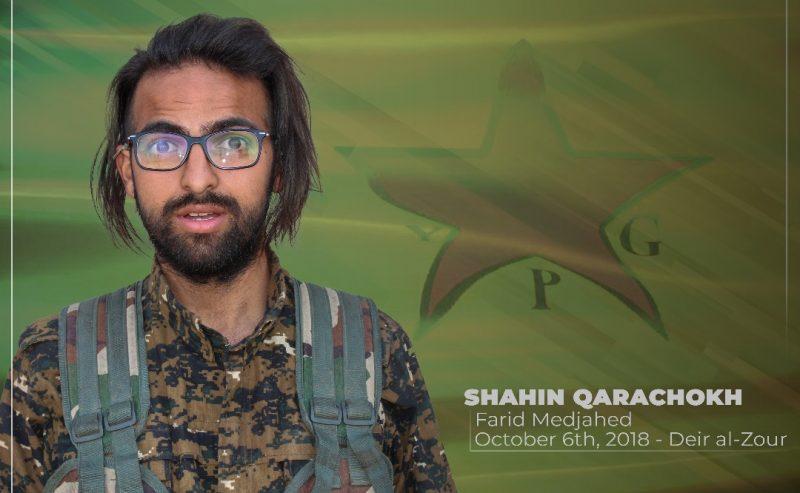 In ricordo di Sahin Qerecox, martire internazionalista il 7 ottobre 2018