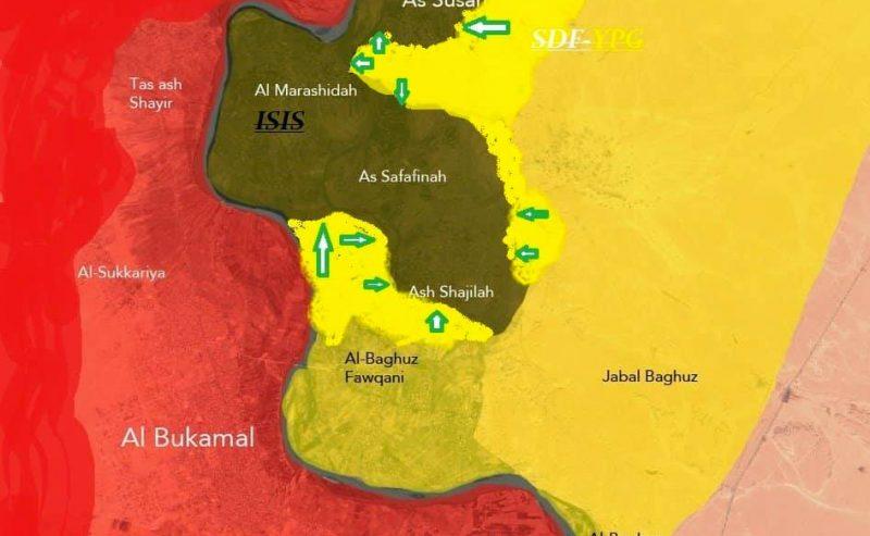 Aggiornamenti sul conflitto siriano