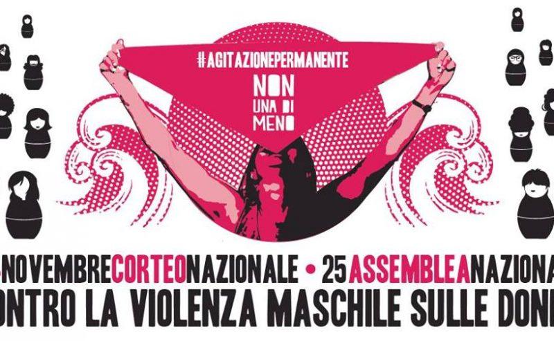 24 Novembre: Manifestazione nazionale di Non una di meno